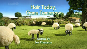 Hair Today, Gone Tomorrow title card