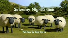 Saturday Night Shaun title card
