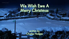 We Wish Ewe A Merry Christmas title card