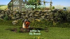 Spring Lamb title card