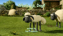 What's Up, Dog title card