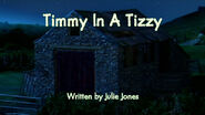 Timmy In A Tizzy title card