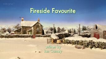 Fireside Favourite title card