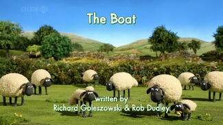 The Boat title card