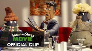 "Shaun The Sheep Movie Official Clip – ""Restaurant"""