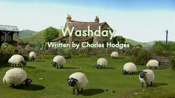 Washday title card