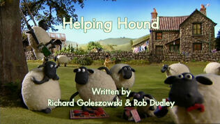 Helping Hound title card