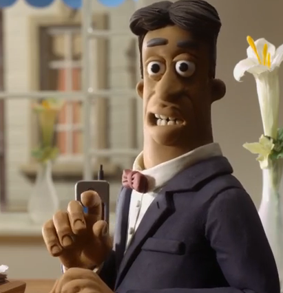 French Waiter Is A Minor Character In Shaun The Sheep Movie