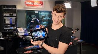 Shawn Mendes RD DM Radio Disney Direct Message