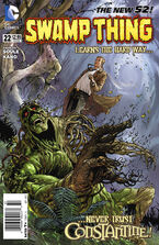 Swamp Thing Vol 5-22 Cover-1