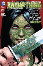 Swamp Thing Vol 5-34 Cover-1