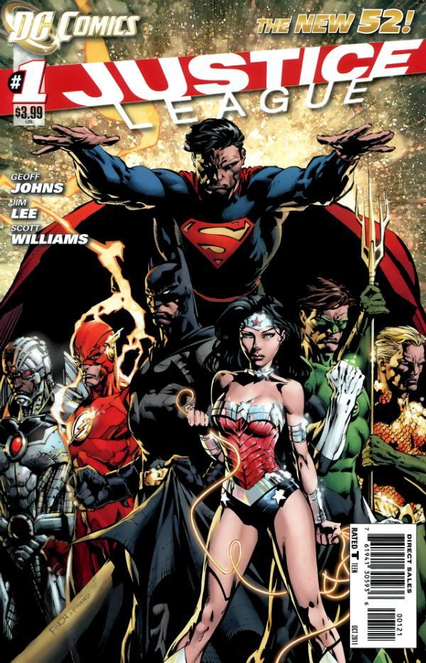 Justice League Vol 2 1 Cover