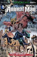 Animal Man Vol 2-13 Cover-1