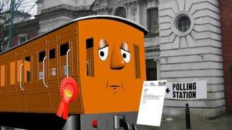 Roly Goes To Vote
