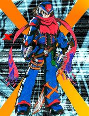 Rockman X Reloaded X by mgx0