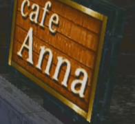 Cafe Anna Sign