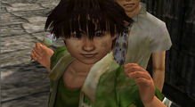 Shen2 Wong sees Ryo from behind