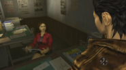 Shen Sekine talking to Ryo
