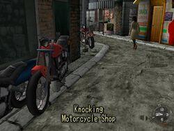 Knocking Motorcycle Shop