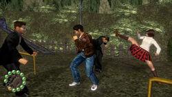 Nozomi fights Enoki secret