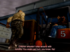 Jones harassing Ryo