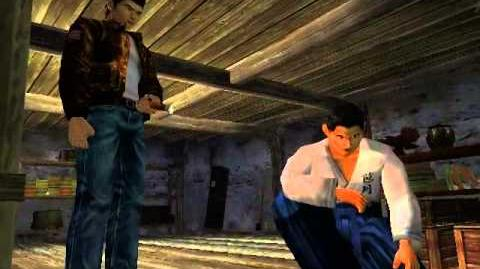 Shenmue - Rare scenes with Fuku-san in the basement-1