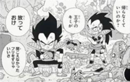 Dragon ball minus raditz y vegeta