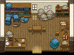 Mika's house interior