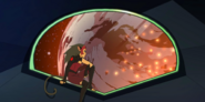 Catra watches Etheria burn