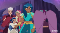 She Ra s5 Mermista Anrgry at Entrapta