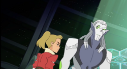 HP showing disdain for Adora's people S5E05 She-Ra