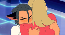 Catra hugs Adora after Rescue