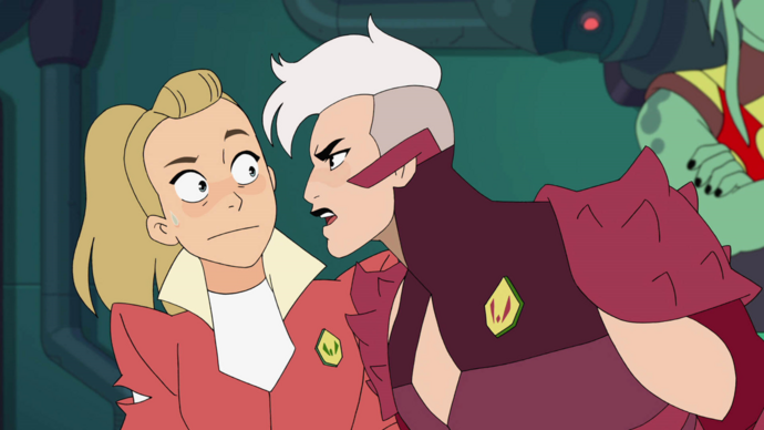 Adora and Scorpia in Remember