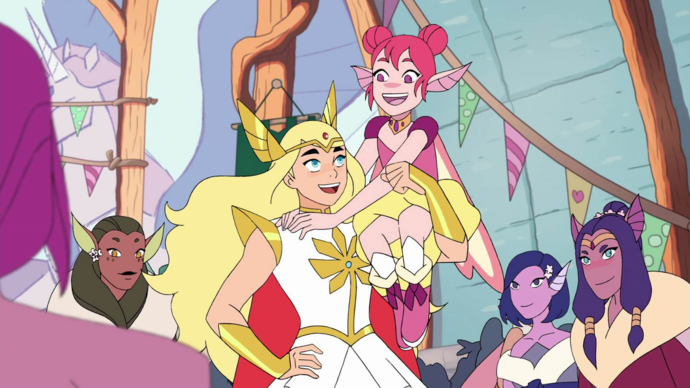 Flutterina (Double Trouble) and She-Ra S4E3