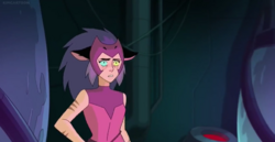 Catra intimidated by Adora