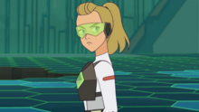 Adora in Horde training hall