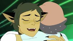 Catra and Glimmer Hug