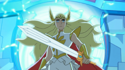 She-Ra emerges from the portal