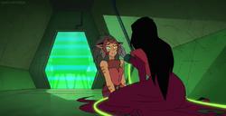 Catra Shadow Weaver talking episode Light Spiner 2