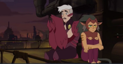 Catra Scorpia episode Light Spiner 2