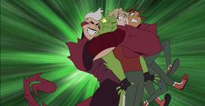 Scorpia hugs fellow Horde deserters