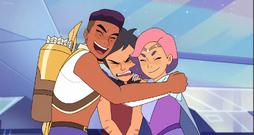 Catra not use to hugs S5 She-Ra