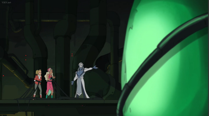 She-Ra S5-Horde Prime in Fright Zone