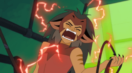 Catra defeated by Shadow Weaver