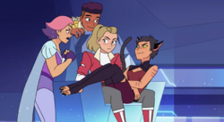 Catra messing around like old times