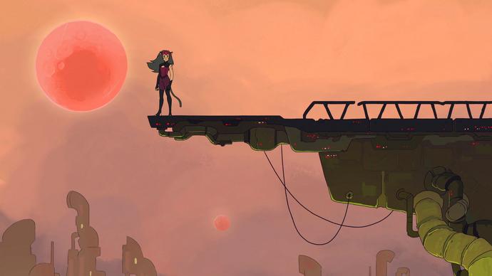 Destiny Part 1 Catra on the horizon