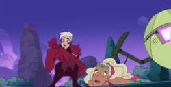 Scorpia accidentally stinging Perfuma S4 Fractures