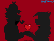 True love-sihouette1