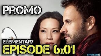 "Elementary 6x01 Promo ""An Infinite Capacity for Taking Pains"""