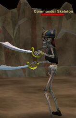 Commander Skeleton